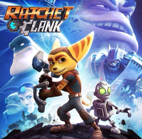 Ratchet and clank ps4 cover by ellorathelombax