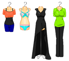 Outfits 4 by Nami14