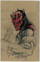 Darth Maul Sketch by artstudio