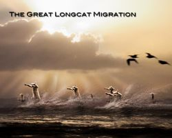 The Great Longcat Migration by Dibbzeh