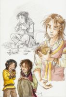 Gift for children by Naa-