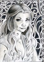 ACEO 112 Margaery Tyrell / Game of Thrones by WojikHell