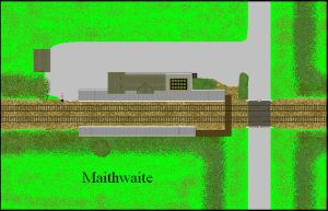 Top down sprite: Maithwaite Station by ScotNick