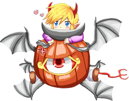 You will be my pumpkin at Halloween by VaatiMage