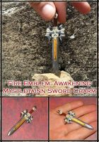 Fire Emblem Awakening - Mystletainn Sword Charm by YellerCrakka