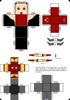 Iron Man Cubee Part 1 (body) by klebers