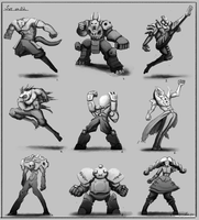 Character Thumbnails Set 02 by daft667
