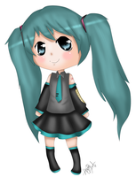 Miku Hatsune Chibi by Haleylamperouge