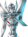 Transformers Prime Starscream by Strixic