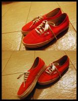 Vans Authentic Red by anggaa