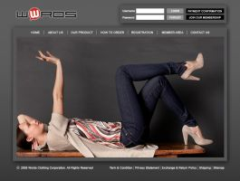 Words Clothing Web - Concept 1 by InsightGraphic