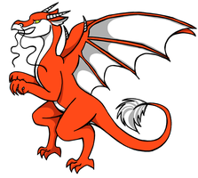Red Dragon by evilyowling