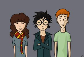 HP Trio: Daria Style by fishbizkit