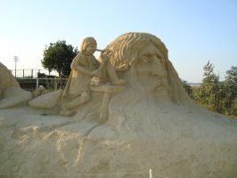 Sand art in burgas 26 by tonev