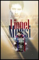 Messi poster by MorhafGfx