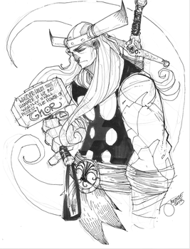 001 - Thor by JeremyTreece
