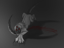 Amun the Absol by CheezieSpaz