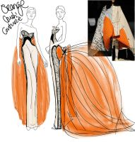 OrangeCrush-WIP-Style2-Couture by mzclark