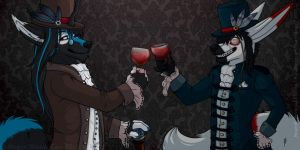 A Toast to Us! by NauroK