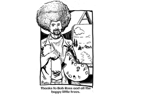 Bob Ross by SirDNA109