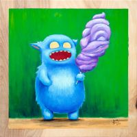 The Cotton Candy Monster by Ditchmaster