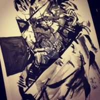 Punished Snake from MGSVTPP by M4n1nm1rr0r