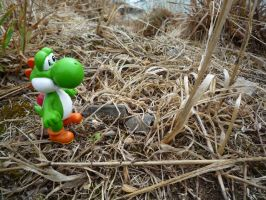 Yoshi and nature 3 by valentin-mittler