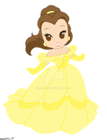 Disney Princess: Belle by kiki34