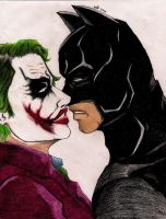 Batman x Joker Breaking by DrSnipersMagic