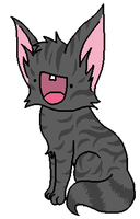Derpy Graystripe by smokecloud2743