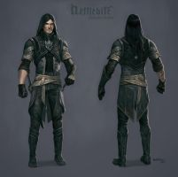 Ashgan enforcer clothes by Hellstern