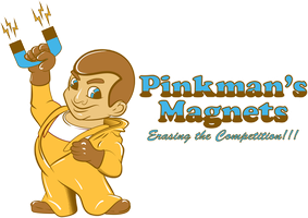 Pinkmans Magnets by RjohnArt