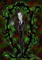Lovecraft In DS Style by RavenBlackCrow