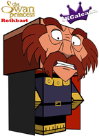 Cubeecraft of Rothbart from The Swan Princess by SKGaleana