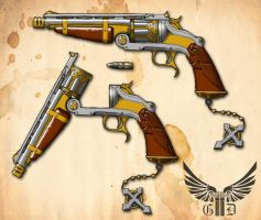Gladius Dei: Guns of Faith by Dalilean
