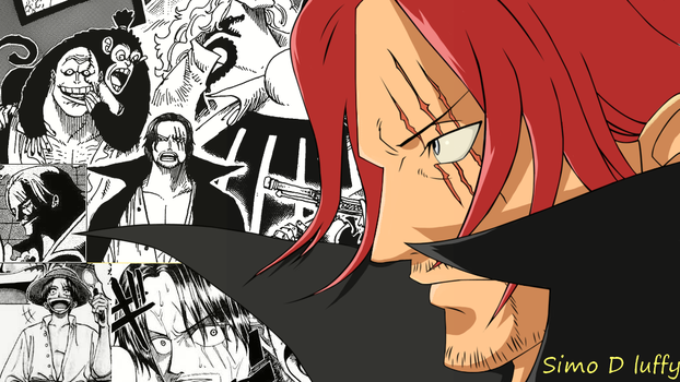 Shinsekai Yonkou Akagami no Shanks by SimoDLuffy
