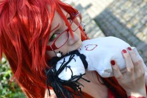 Grell Cosplay - Tastes Like... by diriagoly