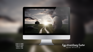 Egg-straordinary Easter Wallpaper Pack by Karl-with-a-C