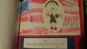 This Picture I Did In Kindergarten by SaturnSirene