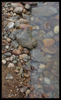 Rocks And Water by powowcow