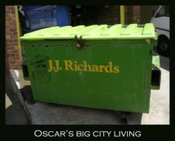 Oscar T. Grouch by restlesswillow
