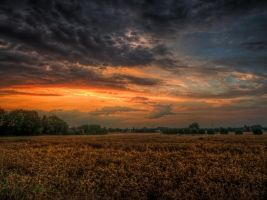 Clouds No5 HDR by Risen-From-The-Ruins