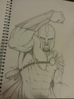 300 inspired sketch. by Wedge40