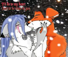 I'd lie to my heart... by angelwolf