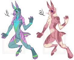 [Easter Cash-Adopts] - Pastel Bunnies [OPEN] by Linkaton