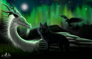 Fenrir - You will never be alone by Gewalgon