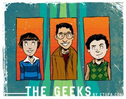 Tupa Freaks and Geeks: The Geeks! by littlereddog