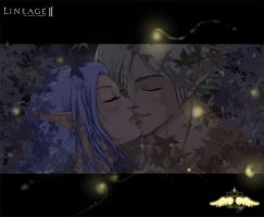 Commission-Kiss Elven by FreeWingsS