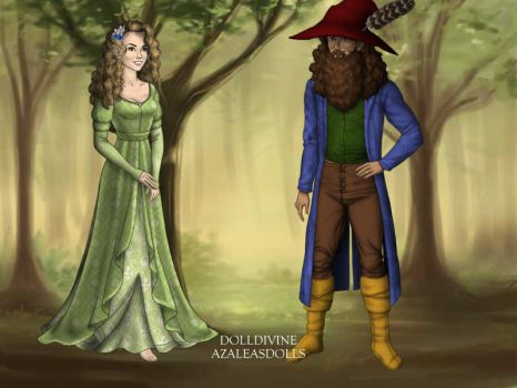 Old Tom Bombadil and the River Woman's Daughter by L-sama-no-miko
