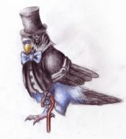 Gentlemanly Parakeet by Pickledsuicune